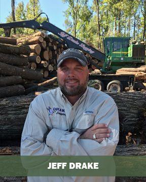 Jeff Drake at Jeff Drake Timber, Logging & Lumber